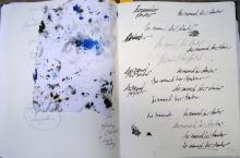 He Named Her Amber - Projectbook IV: Writing exercises for the project-stamp, 2008
