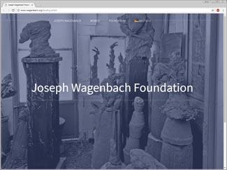 Joseph Wagenbach website preview
